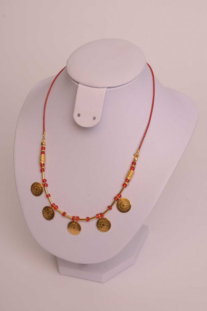 Collier précolombien Muisca or