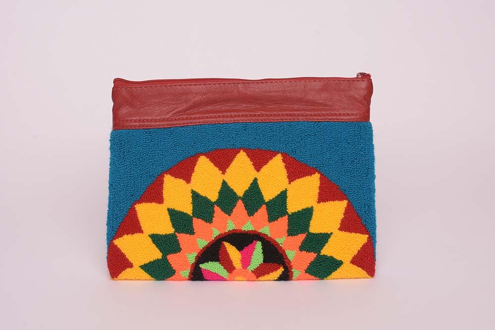 Pochette Wayuu coloré