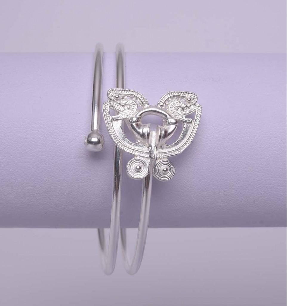 Bracelet ethnique Papillon Tairona Argent