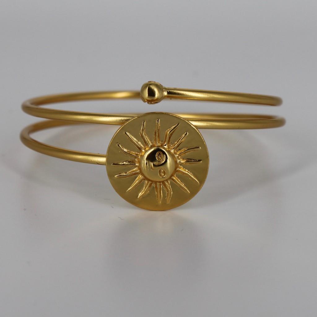 Bracelet soleil muisca