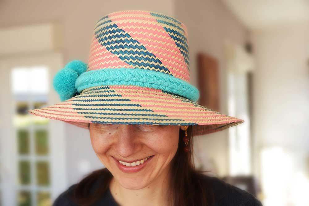 Chapeau colombien Wayuu