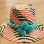 Chapeau ethnique colombien