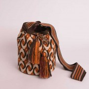 Sac ethnique Mochila colombien Wayuu à motifs