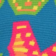 Détail Sac Cabas ethnique Wayuu